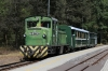 Zsuzsi Erdei Vasut (Debrecen Forest Railway) - Mk48-2002 at Harmashegyalja waiting to depart with the 1330 Harmashegyalja - Hetvezer