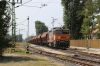 AWT 753739 passes through Balatonfenyves with a freight