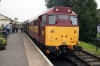 31466 waits departure from Alton with the 0935 Alton - Alresford