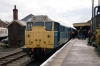 31235 at Dereham after arrival with the 1130 Wymondham Abbey - Dereham