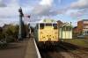 31235 at Dereham after arrival with the 1345 Wymondham Abbey - Dereham
