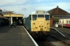 31235 waits to depart Dereham with the last return trip of the day, the 1530 Dereham - Wymondham Abbey