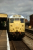 31235 waits to depart Dereham with the 1245 to Wymondham Abbey
