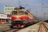 ZCG 461029 stands at Podgorica with the late running 12433 2017 (P) Beograd - Bar, which was booked to run via Kraljevo on this occasion