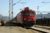ZS 461155 departs Podgorica, Montenegro, with 12433 1805 (P) Belgrade - Bar