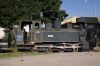Steam loco at Podgorica station
