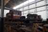 Beira CFM Workshop, CCFB GE U20 D121 stripped