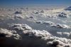 Flying over Kenya