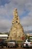 Statue outside Maputo Railway Station
