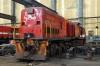 Maputo Workshops - RRL Grindrod GE U26C 34-01 (ex SAR 34.486 & SASOL 4)
