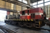 Maputo Workshops - RITES YDM4 D603 (ex 6439) donating parts to D609 (ex 6481) during the latter's overhaul