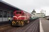 CFM GE U20 D130 waits to depart Maputo with 113 0800 Maputo - Ressano Garcia