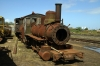 Ex Xai Xai steam locos, recently moved to Maputo Yard 2-6-0 #12, 2-6-2 #05, 2-8-0 #06, 2-6-0 #083 & 2-6-0 #082