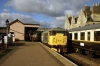 31108 brings the ecs into Wansford to form the 0928 Wansford - Peterborough NVR