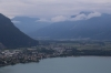 View from Glion on the MOB Montreux - Rochers de Naye line