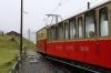 SPB (Schynige Platte) He2/2 #19, built in 1910, departs Breitlauenen with 642 1101 Schynige Platte - Wilderswil