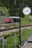 MGB HGe4/4II #2 approaches Oberwald with GEX903 0902 St Moritz - Zermatt