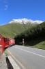 MGB's HGm4/4 #62 leads 364 1615 Gletsch - Realp between Gletsch & Furka on the DFB (Dampfbahn Furka Bergstrecke)