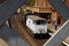Class 11 12131 shunts it brake van back to shed after giving a ride between trains at Weybourne