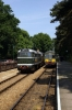 37059 & 31207 are shunted together at Holt to then work the 1236 Holt - Sheringham; dragging a DMU