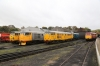 Nene Valley Railway Class 31 60th Anniversary Diesel Gala - Wansford (L-R) 31285/31162, 31108/31452, 31465/31459 & 31466