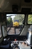 Nene Valley Railway Class 31 60th Anniversary Diesel Gala Day 2 - View from the cab of 31271 as it runs round at Peterborough to drop onto the stock of the 1250 Peterborough - Wansford; which 31285 would top