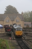 Nene Valley Railway Class 31 60th Anniversary Diesel Gala Day 3 - 31452 waits to come off shed at Wansford