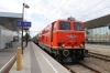 Regiobahn 2143056 waits time at Korneuburg with EZ7490 0914 Wien Praterstern - Ernstbrunn
