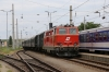 Novog 2143070 arrives into Retz with R16971 1155 Drosendorf - Retz Reblaus Express