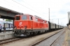 Novog 2143070 waits departure from Retz with R16972 1325 Retz - Drosendorf Reblaus Express