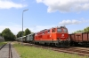 Novog 2143070 waits to depart Drosendorf with R16973 1455 Drosendorf - Retz Reblaus Express