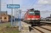 OBB 1144097 waits departure from Znojmo with R2257 1655 Znojmo - Wien Meidling
