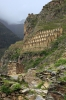Pinkulluna Ruins, Ollantaytambo, on the opposite side of the valley to the Ollantaytambo Ruins