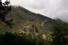 Ollantaytambo Ruins from Avenue Ferrocarril; on the way to the train station