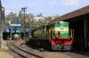 Coonoor (ONR) Steam Loco Shed - GOC YDM4 6724 would replace X Class steam loco 37399 to work 56136 0710 Mettupalayam - Udagamandalam (Ooty) forward and GOC YDM4 6706 had thin wheels and would head to GOC a few days later for attention to them