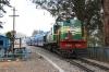 GOC YDM4 6664 arrives into Udagamandalam (Ooty) with 56143 1235 Coonoor - Udagamandalam (Ooty)