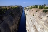 Looking from the OSE old MG alignment on the Corinth Canal Bridge