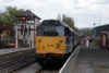 31270 arrives Darley Dale with the 1300 Matlock - Rowsley