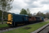 08016 & PWM654 T&T a brake van ride at Rowsley
