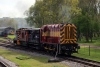 09001 & PWM654 T&T a brake van ride at Rowsley