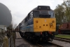 31270 rests at Rowsley after arriving with the 1532 Matlock - Rowsley