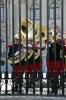 Peru, Lima - Plaza de Armas, guard change at the Peruvian Goverment Palace