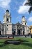 Peru, Lima - Plaza de Armas, Lima Cathedral