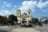 Peru, Huancayo - Plaza de la Constitucion & Huancayo Cathedral