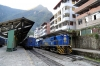 Peru Rail MLW DL535 #482 at Machu Picchu with Expedition Train 504 1450 Hidroelectrica - Ollantaytambo