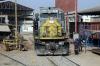 FCCA EMD SD40T-2 1024 on shed at Chosica