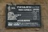 FCHH Huancavelica station boards