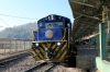 Peru Rail Alco DL532 #356 is prepared at Cusco Poroy to work Expedition Train #33 0735 Cusco Poroy - Machu Picchu