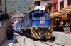 Alco DL532 #358 arrives at Aguas Calientes with Local Train 21 0700 Cusco San Pedro - Hidroelectrica; which had started at Ollantaytambo due to a two day strike on Peru Rail that closed Ollantaytambo - Cusco