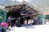 Peru Rail ticket office at Machu Picchu station